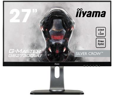 "Монитор Iiyama 27"" GB2730QSU-B1 черный TN+film LED 1ms 16:9 DVI HDMI M/M матовая HAS Pivot 1000:1 35"