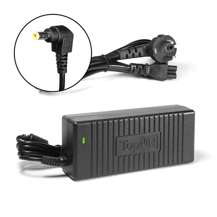 Блок питания для TopON TOP-TF10 для монитора Acer, AOC, BenQ, HP, NEC, Sony, Proview, Viewsonic. 12V 10A (5.5x2.5mm