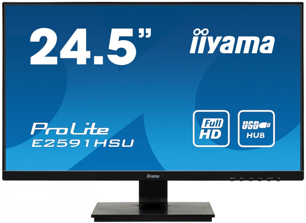 Монитор iiYama E2591HSU-B1 25