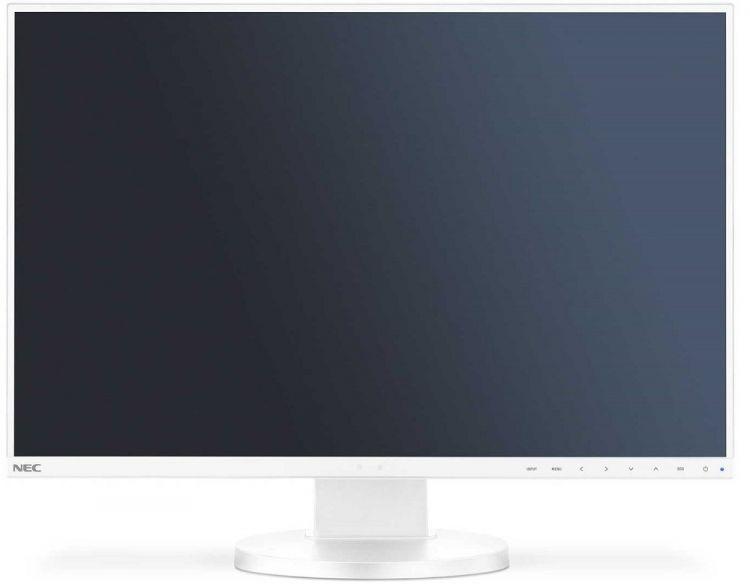Монитор Nec EA245WMi-2 24 White 1920 х 1200/IPS/75Hz/6ms/VGA (D-Sub), DVI-D, DP, HDMI монитор nec ea275uhd
