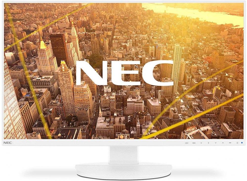 Монитор Nec EA271F 27 White 1920 x 1080/IPS/75Hz/6ms/VGA (D-Sub), DVI-D, DP, HDMI монитор dvi d