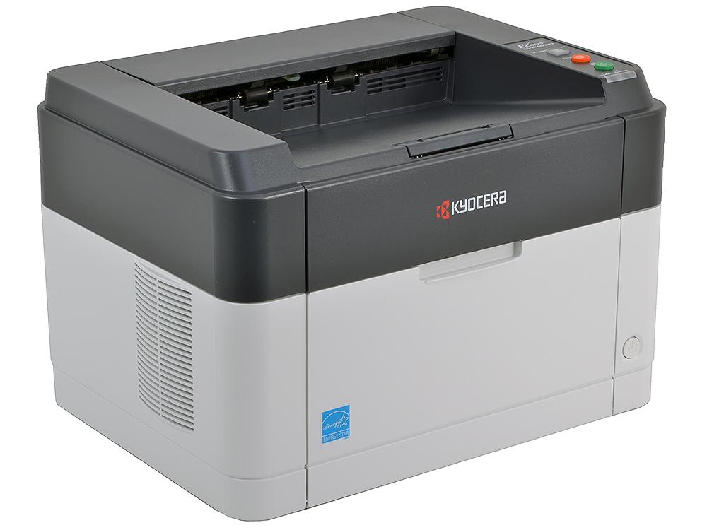Принтер Kyocera FS-1060DN (Лазерный, 25стр/мин, 600dpi, duplex, LAN, USB2.0, A4) мфу kyocera m4132idn a3 duplex net 1102p13nl0 лазерный белый
