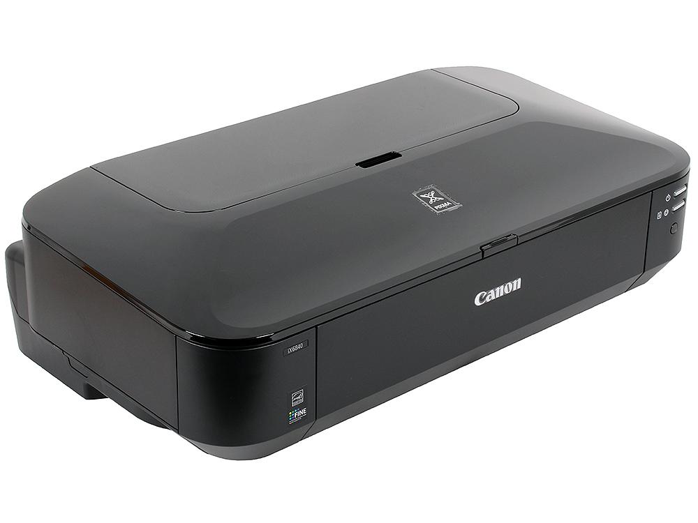 Принтер Canon PIXMA iX-6840 (струйный, A3) принтер струйный canon pixma ip8740 8746b007