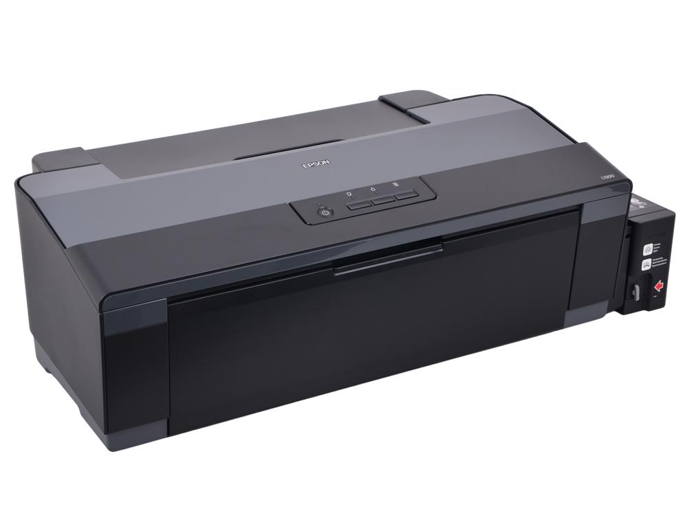 Принтер EPSON L1300 (Фабрика Печати, 30ppm, 5760x1440dpi, струйный, A3, USB 2.0) принтер струйный epson expression photo hd xp 15000 c11cg43402 a3 net wifi usb rj 45 черный