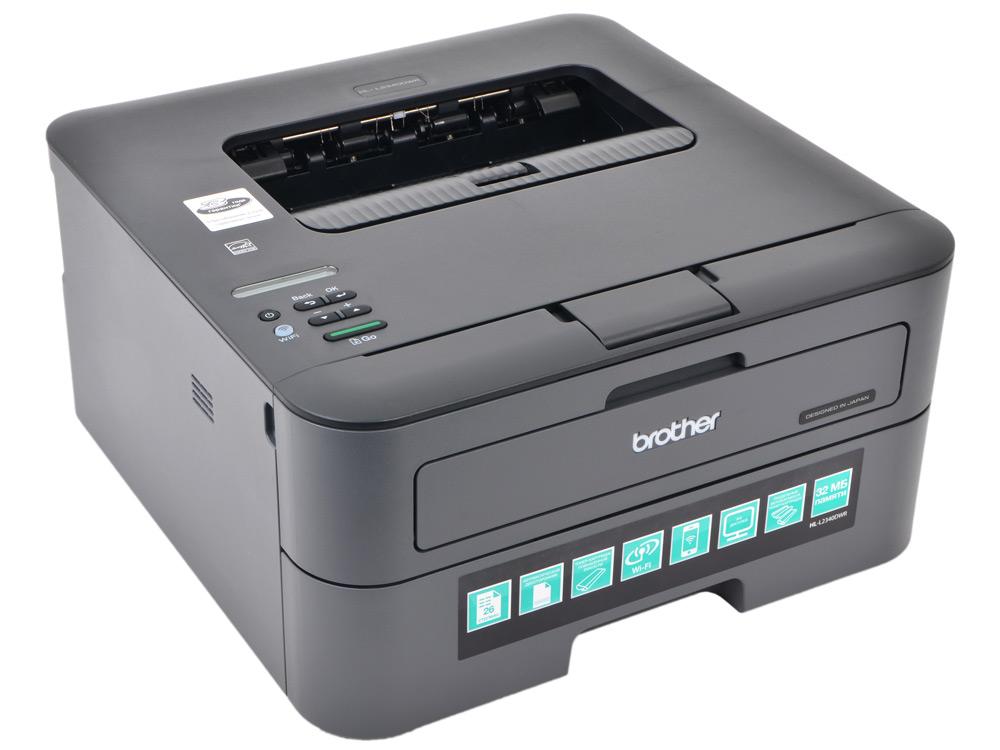 Принтер Brother HL-L2340DWR лазерный, A4, 26стр/мин, дуплекс, 32Мб, USB, WiFi блуза pattern pattern mp002xw1gsf2