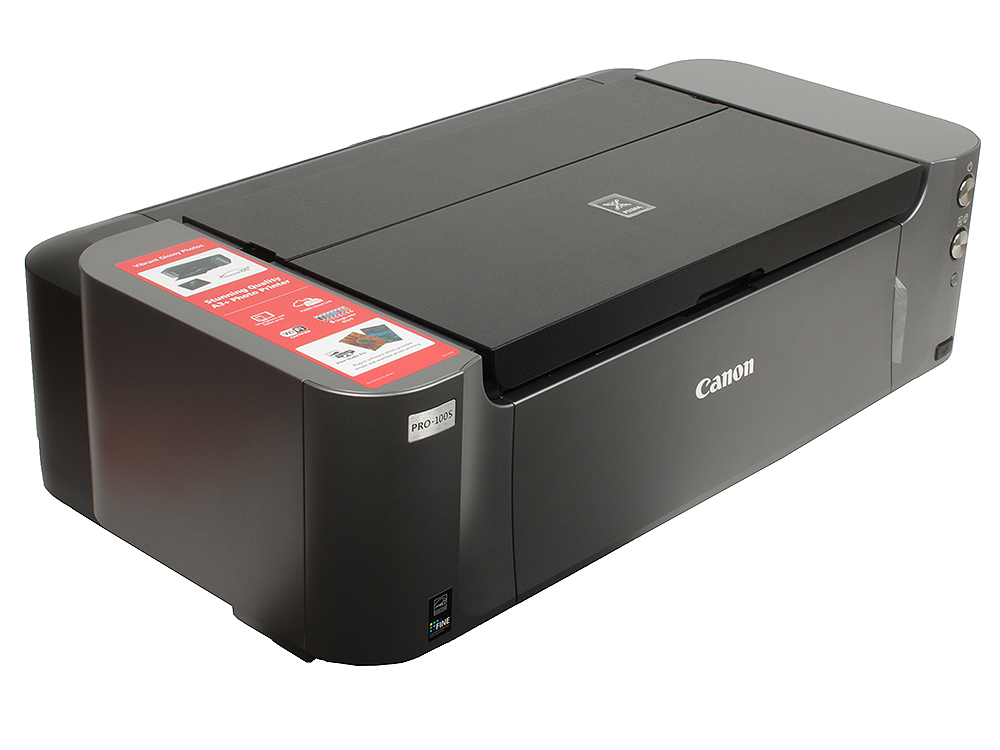 Принтер Canon PIXMA PRO-100S (струйный, A3+, 4800dpi, WiFi, USB2.0, AirPrint) принтер canon pixma gm2040