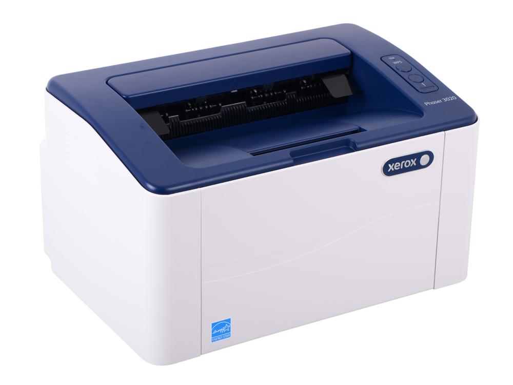 Принтер Xerox Phaser 3020 (A4, лазерный, 20 стр/мин, до 15K стр/мес, 128MB, GDI) принтер xerox phaser 6700dn