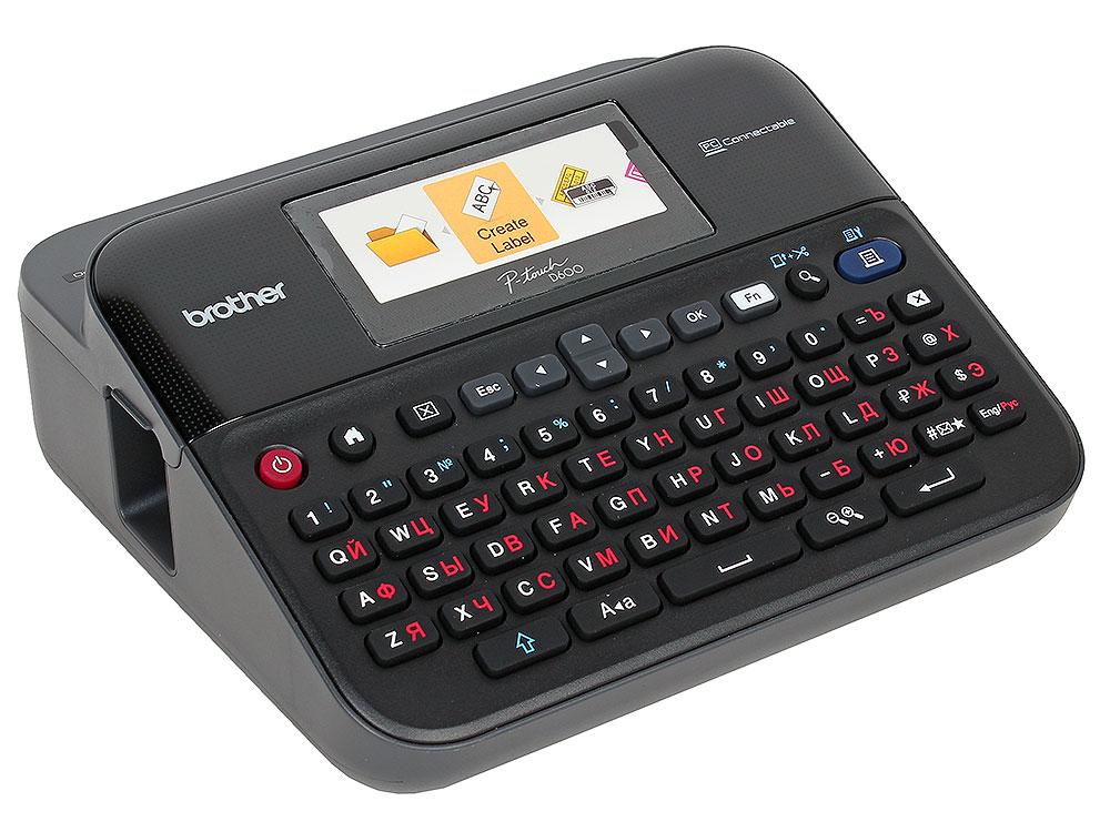 Принтер Brother PT-D600VP термопечать Портативный для наклеек / цветной / 24 мм принтер по текстилю brother gt 381