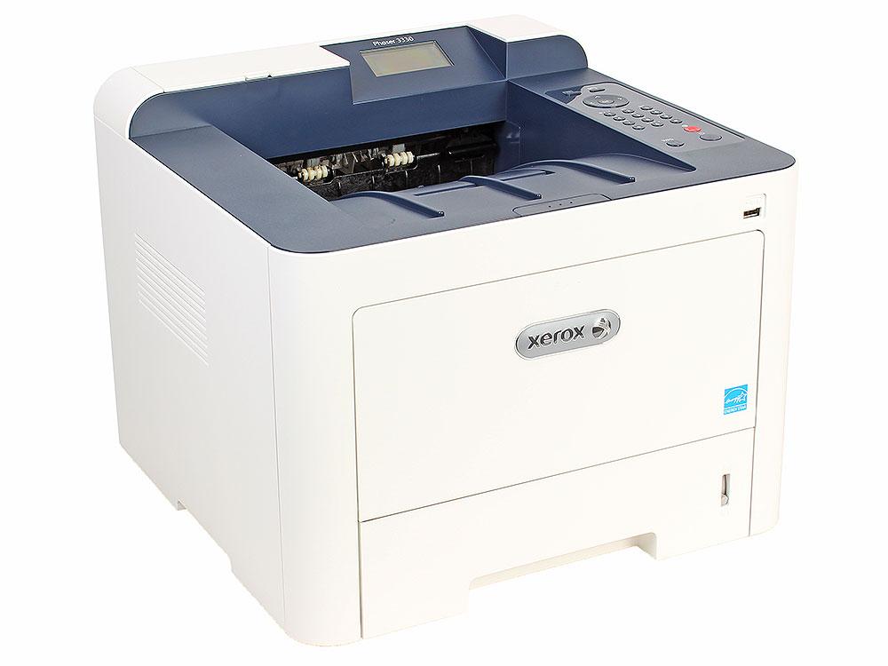Принтер Xerox Phaser 3330DNI (A4, лазерный, 40стр/мин, до 80K стр/мес, 512MB, USB, Ethernet, WiFi, Duplex) цена