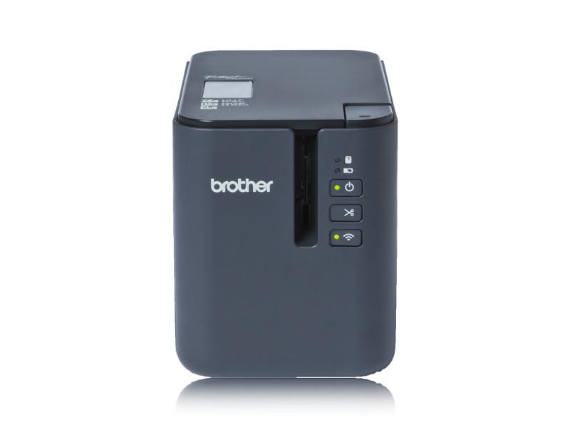 Принтер для наклеек Brother PT-P900W принтер по текстилю brother gt 381