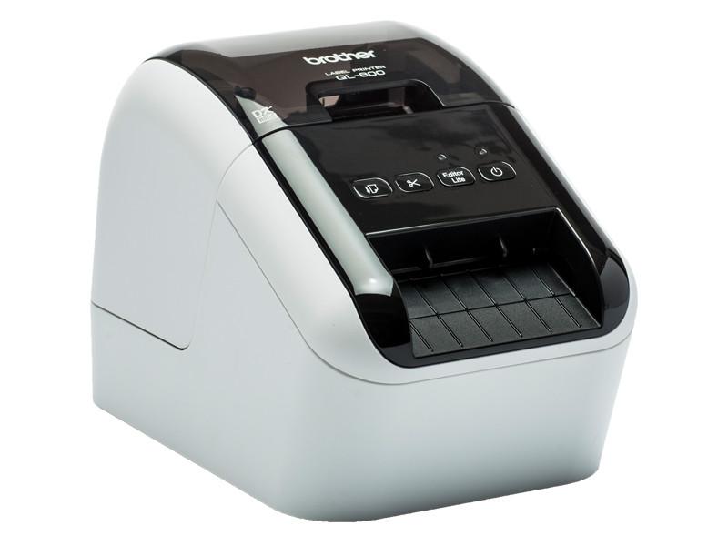Принтер для наклеек Brother QL-810W принтер по текстилю brother gt 381