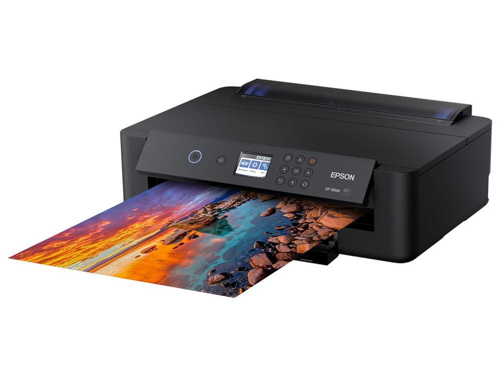 Принтер Epson Expression Photo HD XP-15000 цветное/струйное А3, 29/29 стр/мин, 250 листов, duplex, ADF, USB, WiFi принтер epson фабрика печати m105 монохромный a4 34 стр мин 1140x720 dpi usb wifi с снпч c11cc85311