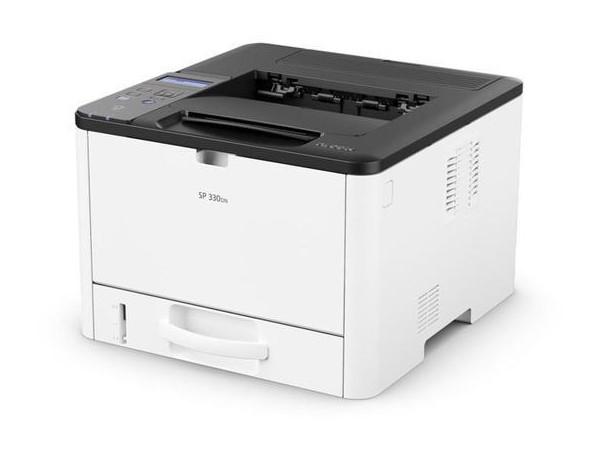 цена Принтер Ricoh SP 330DN монохромное/лазерное А4, 32 стр/мин, 300 листов, duplex, NFC, USB, Ethernet, 128MB