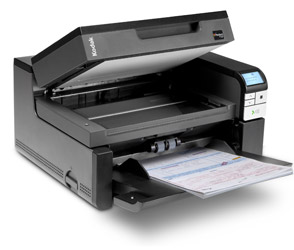 Сканер Kodak i2900 (Цветной, двухсторонний, А4, ADF 250 листов, 60 стр/мин., встроенный планшет А4, арт. 1140219) сканер kodak scanmate i1150 цветной двухсторонний adf 50 листов а4 25 стр мин арт 1664390