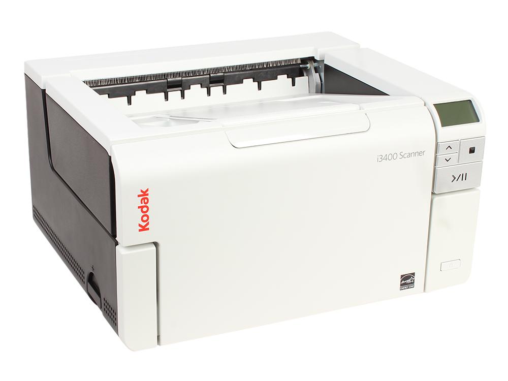Сканер Kodak i3400 (Цветной, двухсторонний, А3, ADF 250 листов, 90 стр/мин., арт. 1947506)