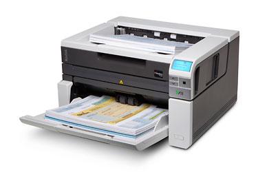 Сканер Kodak i3450 (Цветной, двухсторонний, А3, ADF 250 листов, 90 стр/мин., встроенный планшет А4, арт. 1992874)