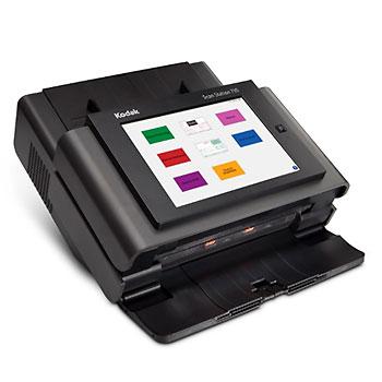 Сканер Kodak ScanStation 730EX Черный Сетевой, Цветной, двухсторонний, ADF 75 листов, А4, 70 стр/мин сканер alaris s2050 цветной двухсторонний а4 adf 80 листов 50 стр мин usb3 1 арт 1014968