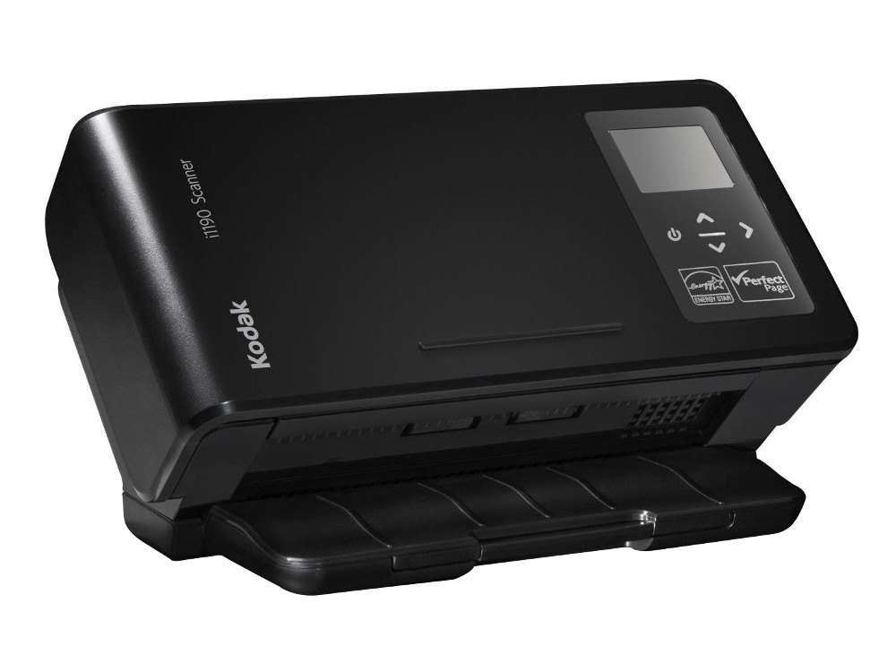 Сканер Kodak i1190 (Цветной, двухсторонний, ADF 75 листов, А4, 40 стр/мин, арт. 1333848)