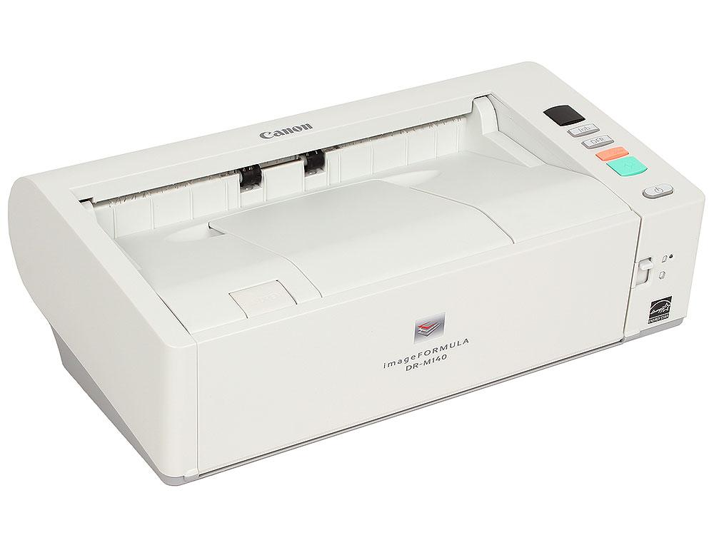 все цены на Сканер Canon DR-M140 (Цветной, двусторонний, 40 стр./мин, ADF 50,High Speed USB 2.0, A4) {5482B003} онлайн