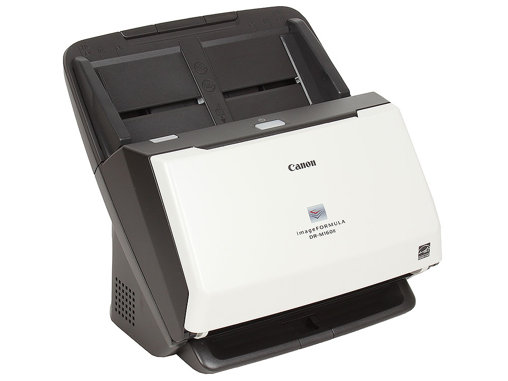 Сканер Canon DR-M160II Цветной, двусторонний, 60 стр./мин, ADF 60, USB 2.0, A4 (9725B003) сканер canon imageformula dr m160ii
