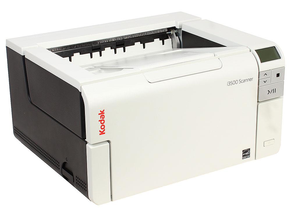 Сканер Kodak i3500 (Цветной, двухсторонний, А3, ADF 300 листов, 110 стр/мин., арт. 1065036) сканер kodak scanmate i1150 цветной двухсторонний adf 50 листов а4 25 стр мин арт 1664390