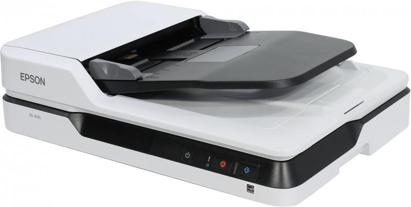 Сканер Epson WorkForce DS-1630 планшетный CIS 600x600dpi B11B239401