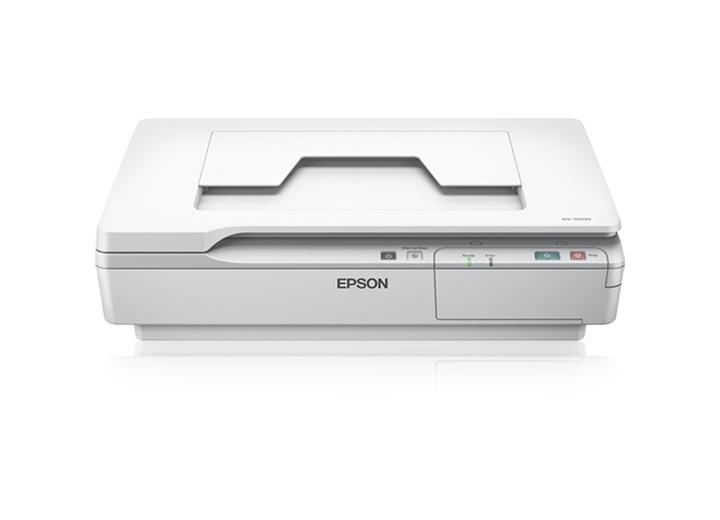 Сканер Epson WorkForce DS-5500 1200x1200 dpi CCD USB B11B205131 белый