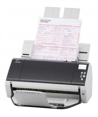 Сканер Fujitsu fi-7460 протяжный А3 600x600 dpi CIS 60ppm USB PA03710-B051 сканер fujitsu fi 7260