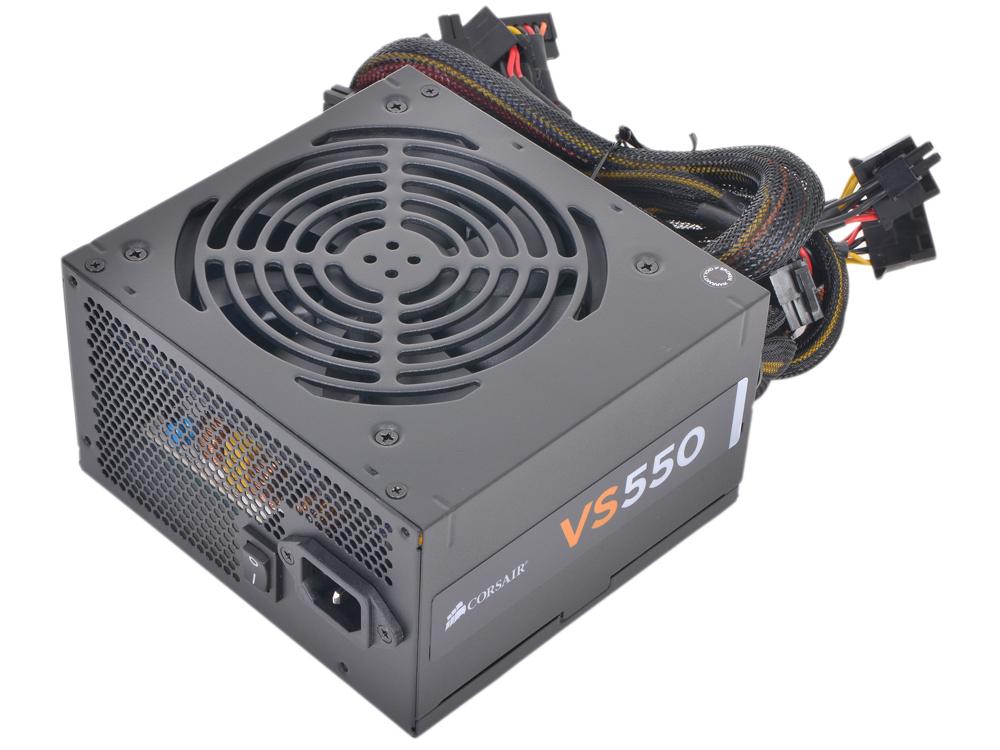 Блок питания Corsair 550W (VS550) v.2.31,A.PFC,Fan 12 cm,Retail блок питания cooler master masterwatt 550w