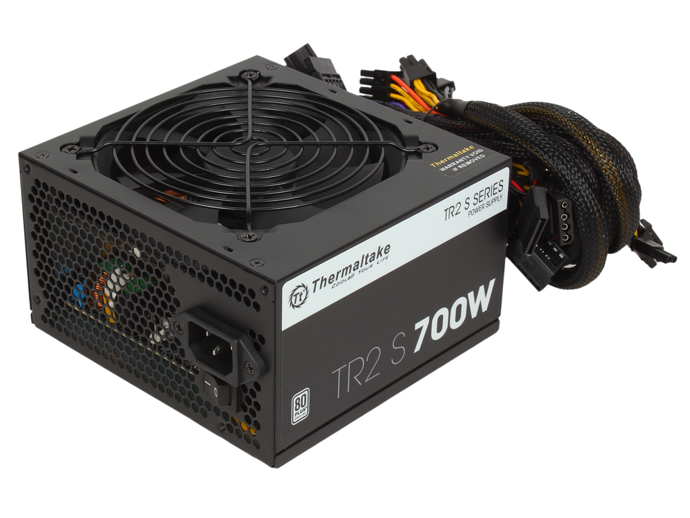 Блок питания Thermaltake TR2 S 700W [PS-TRS-0700NPCWEU-2] v2.3, A.PFC, 80 Plus , Fan 12 cm, Retail