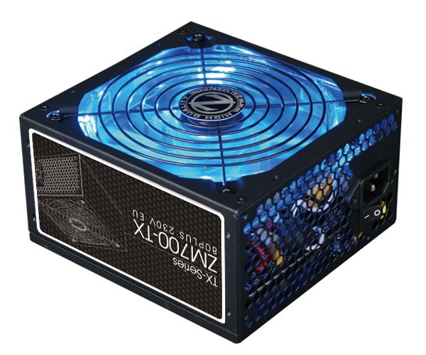 Блок питания Zalman 700W ZM700-TX v2.31, A.PFC, Fan 14 cm, Retail блок питания zalman 700w zm700 lx v2 3 a pfc fan 12 cm retail