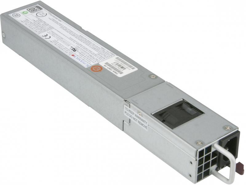 Блок питания SuperMicro PWS-706P-1R 750W блок питания для системного блока supermicro pws 865 pq