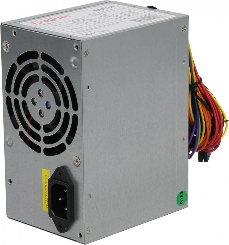 Блок питания ATX 350 Вт Exegate AAA350 ATX 12В 2.2 цена и фото