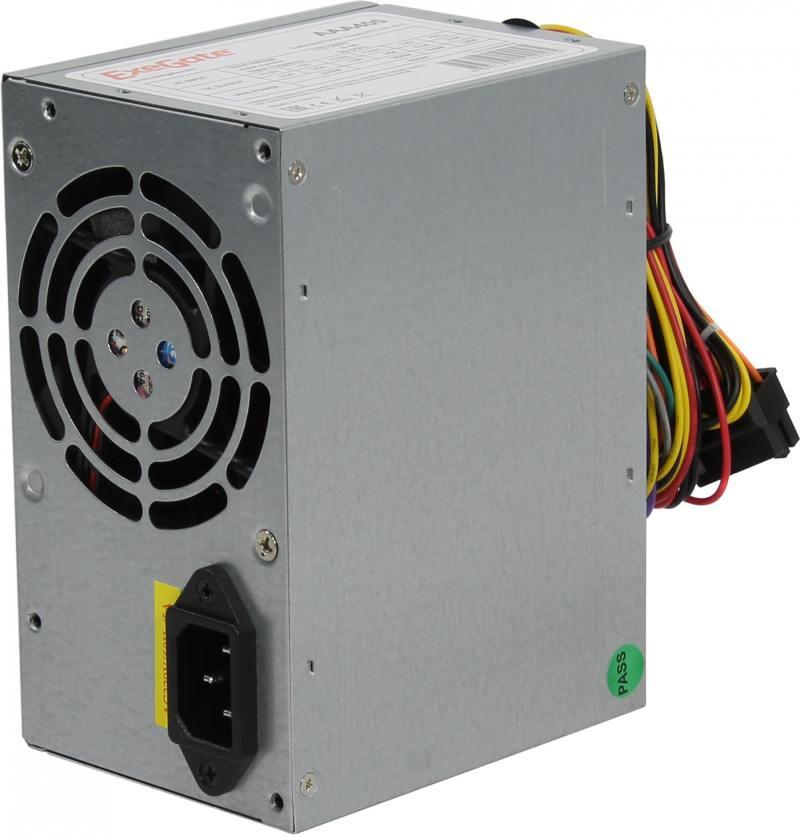 цена на Блок питания ATX 400 Вт Exegate AAA400 ATX 12В 2.3