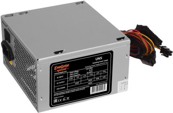 Блок питания ATX 600 Вт Exegate UNS600 (ES261570RUS) ATX 12В 2.3 цена и фото