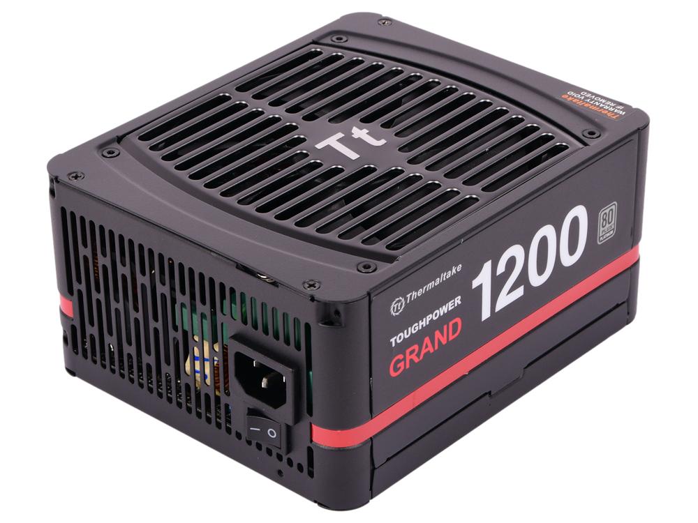 Блок питания Thermaltake ToughpowerGrand 1200W PS-TPG-1200FPCPEU-P/Modular/ATX 2.3 & EPS 2.92/A-PFC/13.5cm/EU/80+ Platinum, RTL {4} блок питания atx thermaltake volga w0429re 1000w