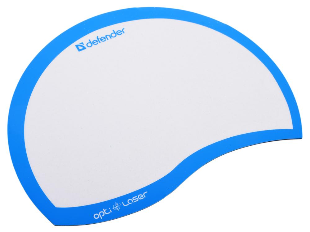 Коврик для мыши Defender пластиковый Ergo opti-laser Blue (синий) 215х165х1.2 мм линзы rp rydon laser blue