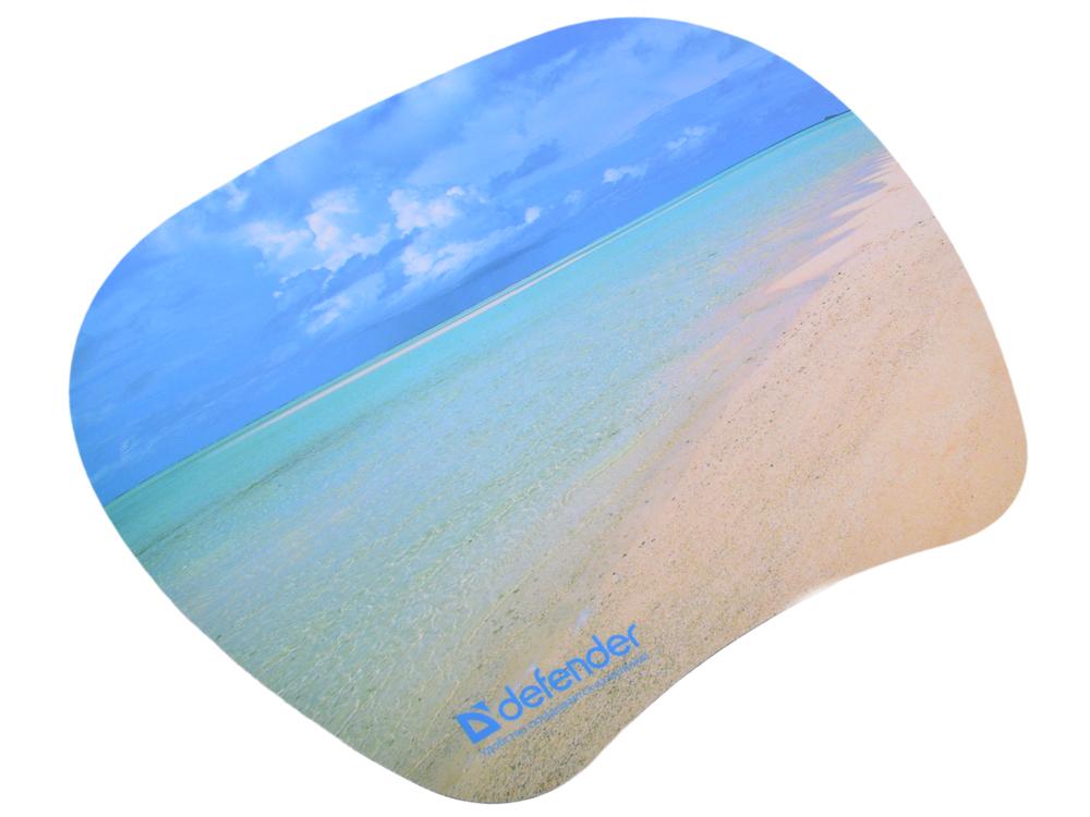 лучшая цена Коврик для мыши Defender пластиковый TURBO (ассорти- 4 вида) 210x175x1.2 мм