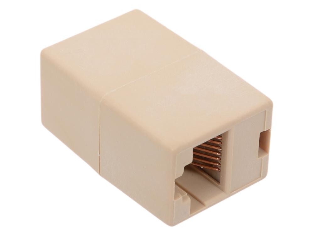 Модули RJ-45 - RJ-45 проходной, кат. 5e, Aopen ACT251, 10шт в пакете коннекторы rj 45 8p8c для utp кабеля 5 кат aopen aopen anm005 vcom vna2200 100 шт в пакете