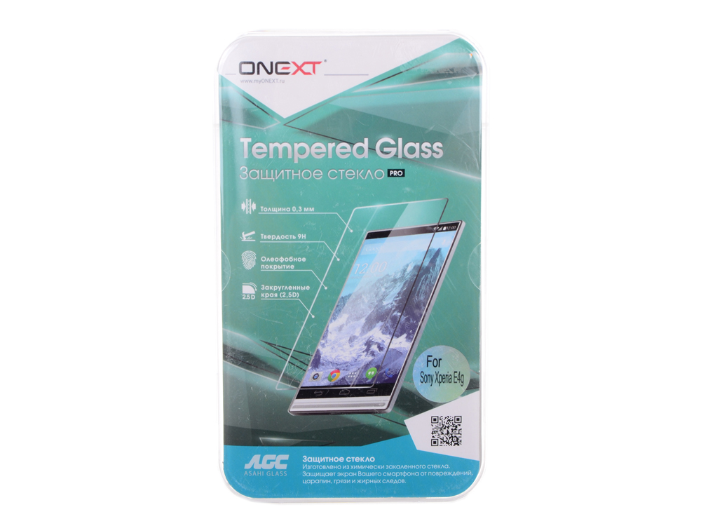 Защитное стекло для Sony Xperia E4g, Onext wierss розовый для sony xz2