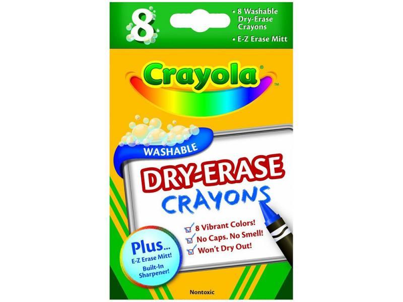 Восковые мелки Crayola 64710 8 штук 8 цветов от 3 лет карандаши восковые мелки пастель giotto мелки восковые мелки cera ast 24 цвета