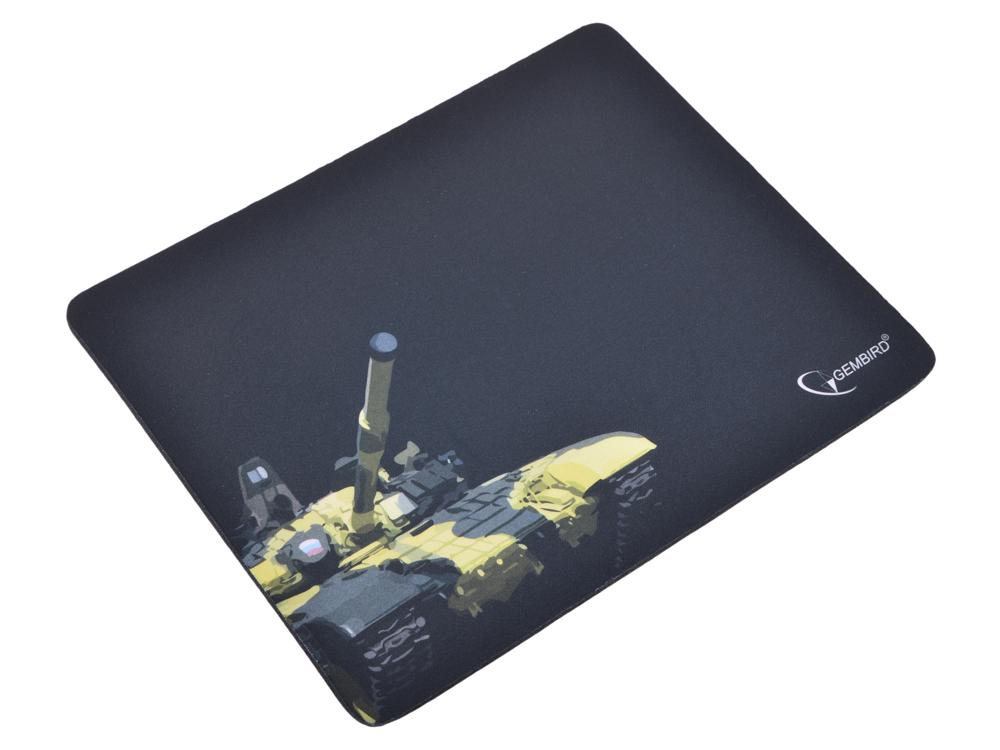 Коврик для мыши Gembird MP-GAME10, рисунок- танк, размеры 250*200*3мм коврик для мыши gembird mp game23 рисунок survarium размеры 250 200 3мм ткань резина оверлок