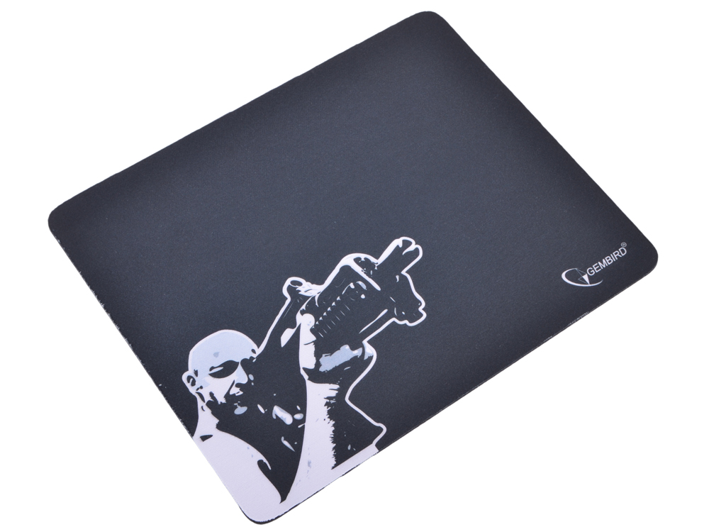 Коврик для мыши Gembird MP-GAME12, рисунок- снайпер, размеры 250*200*3мм коврик для мыши gembird mp game23 рисунок survarium размеры 250 200 3мм ткань резина оверлок