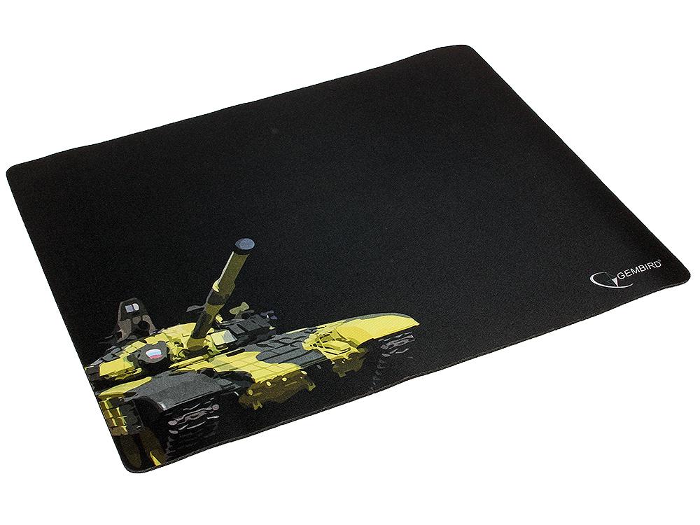 Коврик для мыши Gembird MP-GAME13, рисунок- танк, размеры 437*350*3мм коврик для мыши gembird mp game23 рисунок survarium размеры 250 200 3мм ткань резина оверлок
