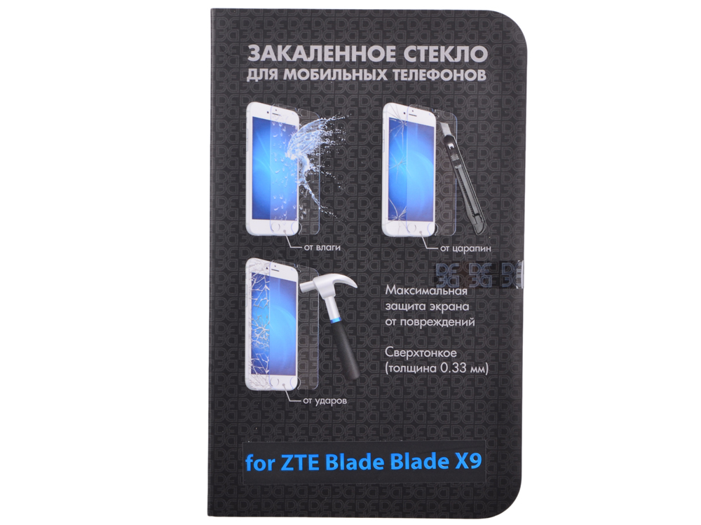 Закаленное стекло для ZTE Blade X9 DF zSteel-08 цены онлайн