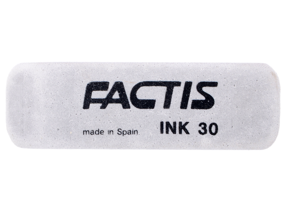 Ластик Factis INK30 1 шт прямоугольный ластик brauberg 222461 1 шт прямоугольный