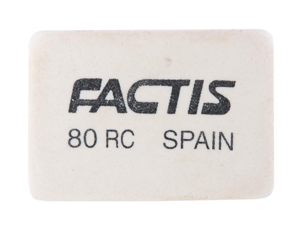 цена на Ластик Factis 80RC 1 шт прямоугольный