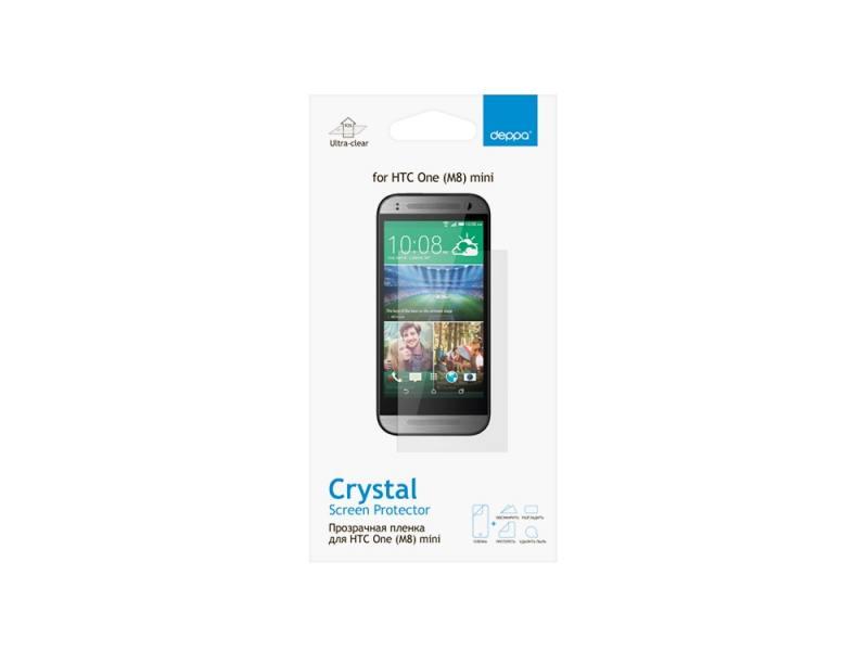 Защитная пленка Deppa для HTC One mini 2 прозрачная 61345 защитная пленка deppa для lg k10 глянцевая
