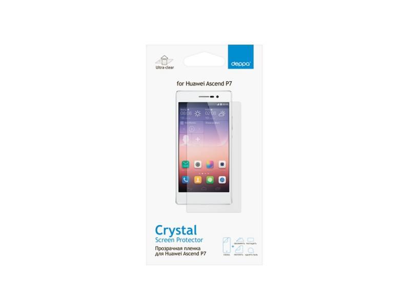 Защитная пленка Deppa для Huawei Ascend P7 прозрачная 61346 стоимость