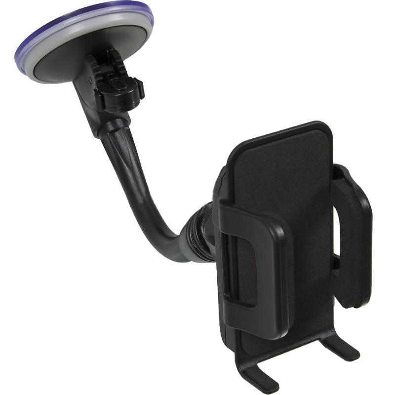 Автомобильный держатель Phantom PH6381 для смартфонов черный 148128 автомобильный держатель supra shf 14 черный